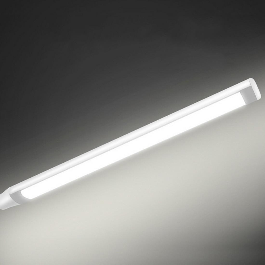 Светодиодный мини папку лампа 1 шт. 5 Вт 24 светодиодный s защиты глаз зажим свет настольной лампы Плавная затемнения гибкие USB Powered сенсорный Сенсор