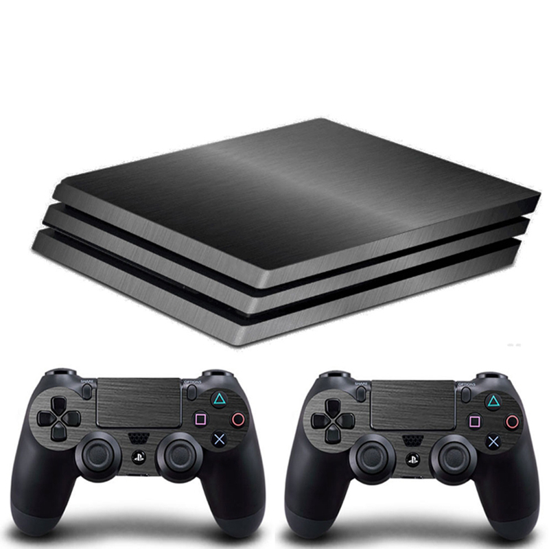 HOMEREALLY PS4 Pro Skin 5 Styles HD Vinyl Decal Vinly HD Sticker Cover For Playstaion 4 Pro Console and Controller Skin Ps4 Pro 1