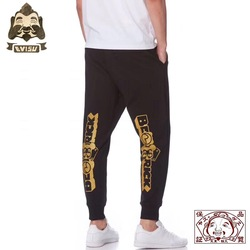 Genuine Evisu Violent Bear Print Warm Breathable Men's Pants Wild Cotton Fashion Men's Sports And Leisure Pants 710