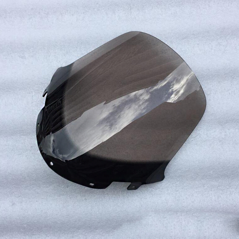 Motorcycle Windscreen <font><b>Windshield</b></font> For <font><b>Yamaha</b></font> ZF125T YP125 YP250 Mjaste250 image