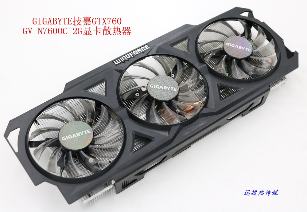 все цены на New Original for GIGABYTE GTX760 GV-N760OC-2G graphics card cooler fan with heat sink онлайн