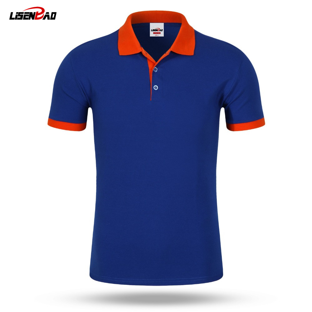 accept custom diy logo new 2016 polo shirt for men