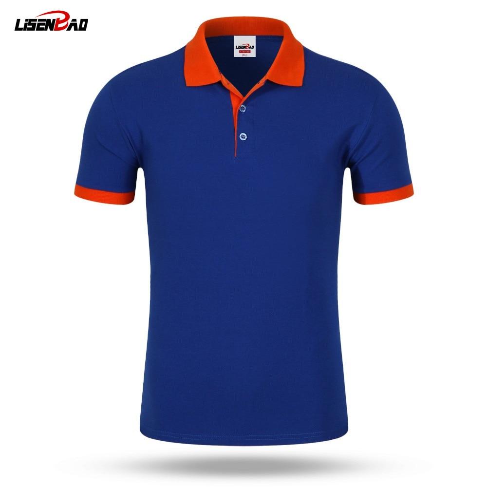 Design t shirt jerseys online - Accept Custom Diy Logo New 2016 Polo Shirt For Men Designer Polos Men Cotton Men Loose Short Sleeve Jerseys Polo Shirts T