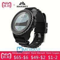 Наличии оригинальный Makibes G07 gps спортивные SmartWatch Bluetooth динамический монитор сердечного ритма IP68 Водонепроницаемый gps Спорт на открытом возду