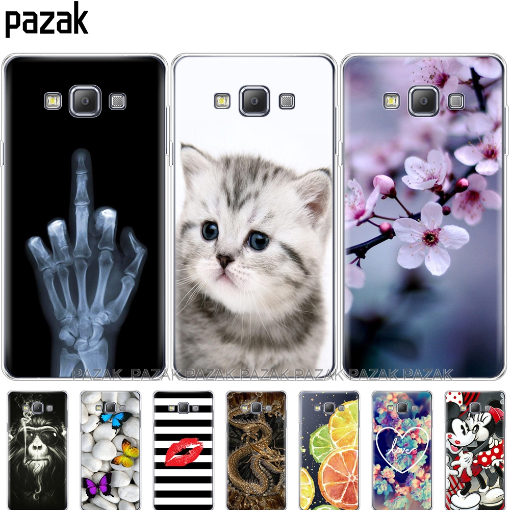 Silicone phone Case For Samsung Galaxy A3 2015 A300 A300F Cases Soft TPU Back Cover for Samsung A3 2015 A300 Case Covers new image