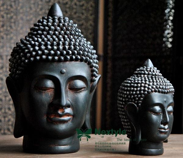 Wholesale Buddha figure # TOP efficacious HOME family Protection Talisman # Retro Buddhism FENG SHUI Buddha statue