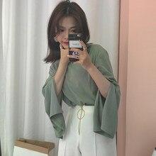 Barato por atacado 2018 novo verão venda quente moda feminina casual senhora bonita agradável topos l50
