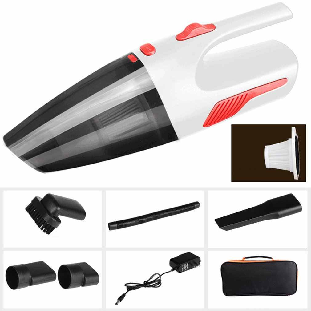 Portable Wireless vacuum cleaner Automotive multi-function Wet Dry Dust Catcher with Light Cleaner 2018 New