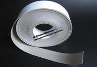 1mm Thick 40mm 20M Full Sides Conductive Foam Gasket For TV Laptop Tablet Screen Case Shock