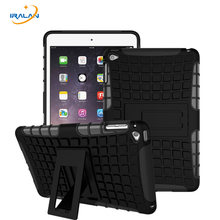 Para Apple Ipad Mini 4 funda de moda PC + TPU a prueba de golpes híbrido Anti polvo tableta cubierta protectora para Ipad Mini 4 7,9 pulgadas + película + bolígrafo(China)