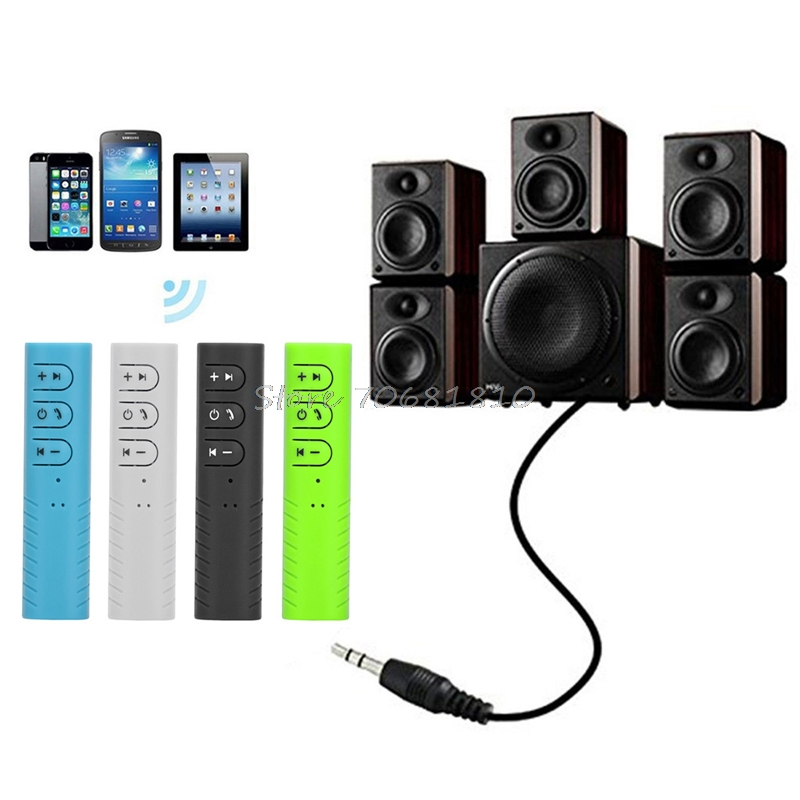 Wireless <font><b>Bluetooth</b></font> 4.1 <font><b>Receiver</b></font> 3.5mm <font><b>Jack</b></font> <font><b>Bluetooth</b></font> Audio Music <font><b>Receiver</b></font> Adapter Car Aux Cable For Speaker Headphone #R179T#