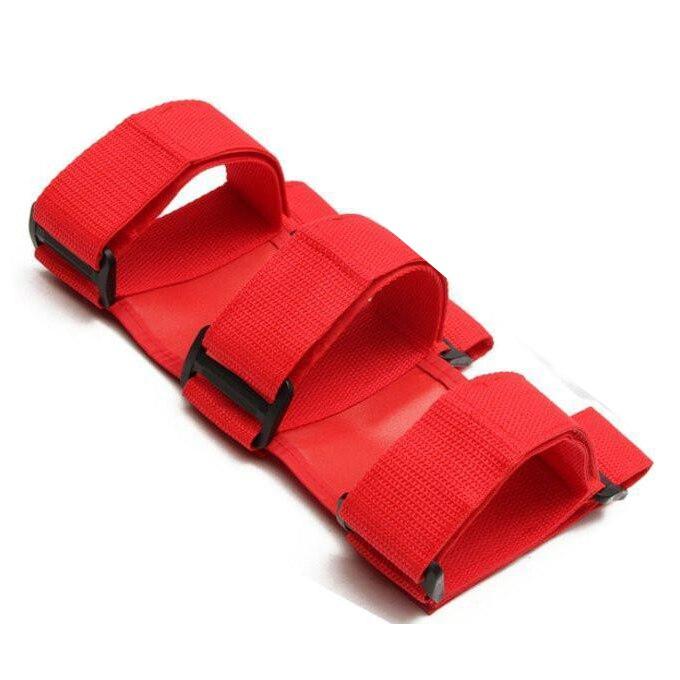 Car Auto Fixed Holder Fire Extinguisher For Wrangler TJ YJ JK CJ Automobile, Red