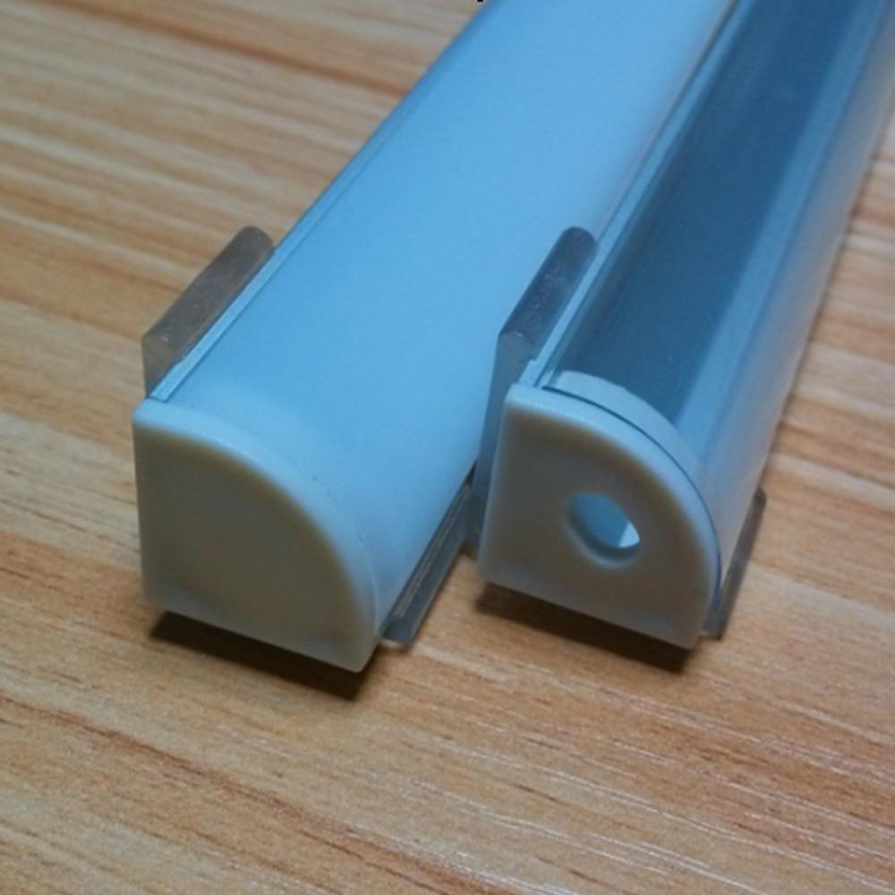 2m hliníkový profil, 10ks / lot led hliníkový profil pro 10mm deska plošných vodičů LED světlo