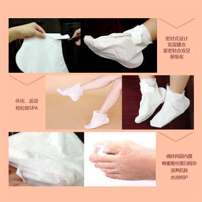 BIOAQUA 2 teile/los Peeling Fuß Peeling Maske Körper Geboren Füße Maske Dead Skin Remover Glatte Energetische Socken Pediküre Fuß Pflege