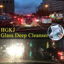 Car Glass Scratch Removing Cleaning Sponge