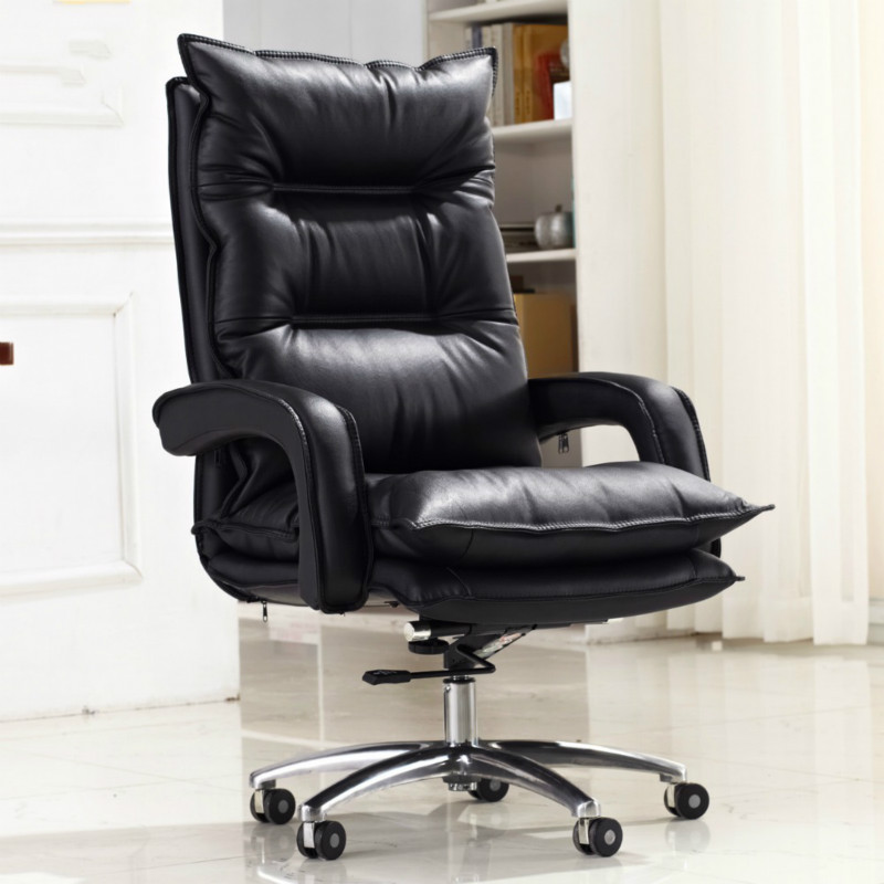 High Quality Super Soft Comfortable Computer Game Chair Swivel Household Office Chair Lifting Double Thickness Boss Chair