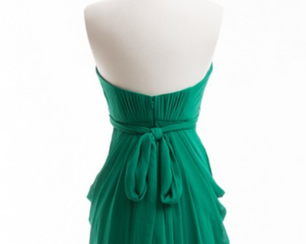 Emerald πράσινο φόρεμα παράνυμφων φόρεμα - Φορεματα για γαμο - Φωτογραφία 5