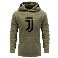 2018 Brand New Men Hoodies Pullover Hip Hop Fleece Fashion Juventus Print Sportswear Mens Tracksuit Sweatshirt