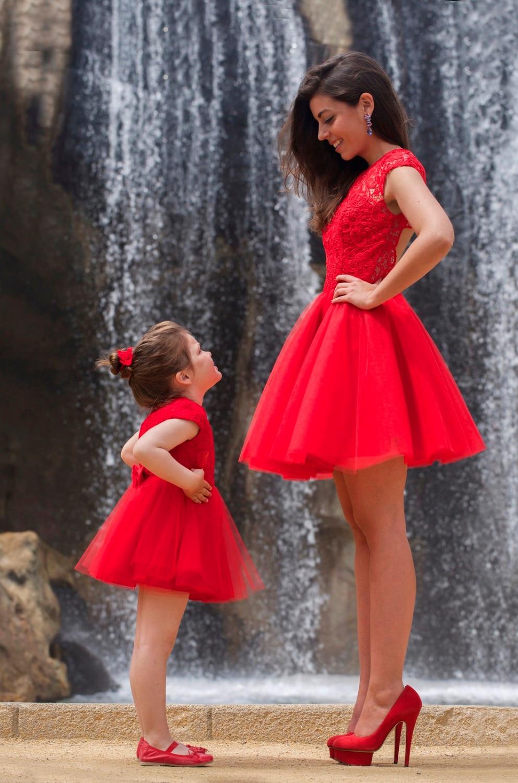 Vestidos de fiesta para madre e hija