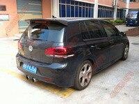 Fit for Volkswagen Golf 6 R20 GTI carbon fiber rear spoiler rear wing
