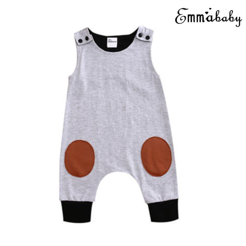 Newborn Baby Girl Boy Romper Bodysuit Jumpsuit Hat Outfits Set Clothes 0-24M Newborn Infant Kids Baby Boy Girls Cotton