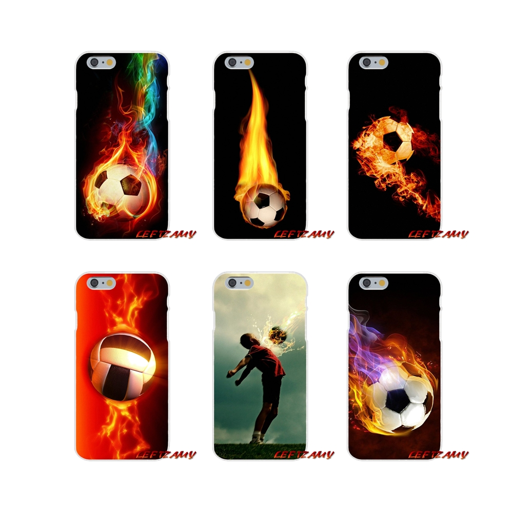 Phone Bags & Cases Half-wrapped Case Fire Football Soccer Ball Accessories Phone Cases Covers For Samsung Galaxy A3 A5 A7 J1 J2 J3 J5 J7 2015 2016 2017 Last Style