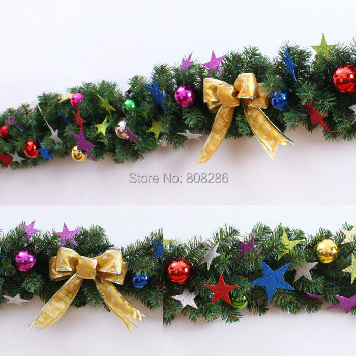 new decor merry christmas decoration encrypted vine with bowknot ball other christmas new year holiday supplier 1pcslot in ball ornaments from home