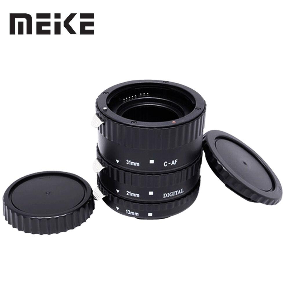 Meike Autofocus AF D'extension Macro Anneau de Tube pour Canon EOS 1300D 800D 760D 750D 700D 650D 200D 77D 80D 60D 5Ds 7D 6D Caméra len - 3