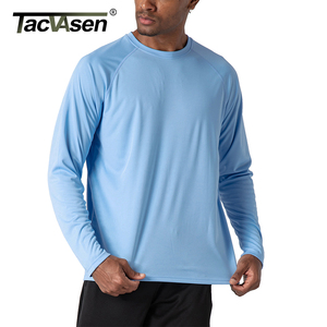 Image 5 - TACVASEN Mens Sun Protection T shirts Summer UPF 50+ Long Sleeve Performance Quick Dry Breathable Hike Fish T shirts UV Proof