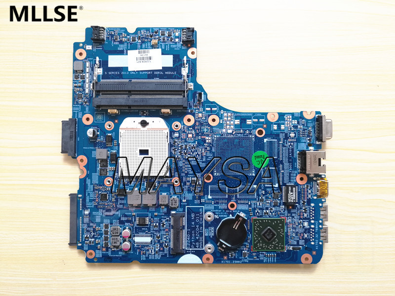 722824-001 722824-501 Laptop motherboard Fit For HP ProBook 445 G1 Series Notebook PC mainboard . 100% fully Tested! laptop motherboard 605903 001 fit for hp g62 cq62 notebook pc mainboard ddr3