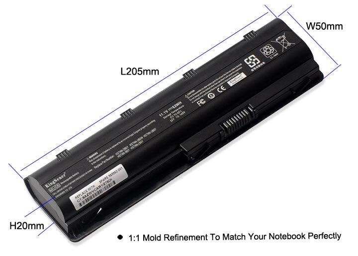 KingSener Korea Cell New MU06 Battery For HP 430 431 435 630 631 635 636 650 655 CQ32 CQ62 G32 G42 G72 G56 G62 G7 DM4 593553 001 in Laptop Batteries from Computer Office