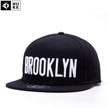 2016 BROOKLYN Snapback Hats Classic Mens Women Adjustable Baseball Caps Hiphop Bboy Sun Cap In Black