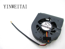 New original fan for ADDA AB0712HB-UB3 12V 0.30A 3 wire double ball notebook CPU fan new original delta for sun t5220 x4450 cpu fan 541 2068 03 pfc0612de set for 2pcs