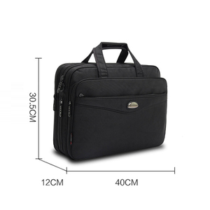 Image 5 - 2019 Fashion men bag Satchels briefcase Laptop Large capacity Multifunction bag Oxford handbags high quality Shoulder Bags Male