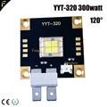YYT-320 300 Вт 120/60 градусов высокая мощность излучатель LED холодный белый цвет сценический движущийся головной свет СИД 300 Ватт 3D печать свет СИД
