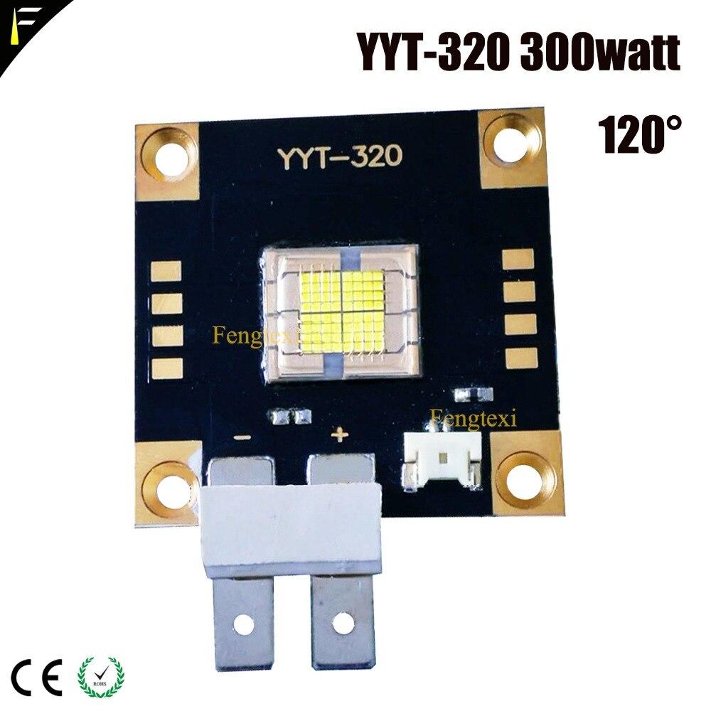YYT-320 300w 120/60 Degree High Power Emitter LED Cold White Color Stage Moving Head Light LED 300watt 3D Printing Light LED
