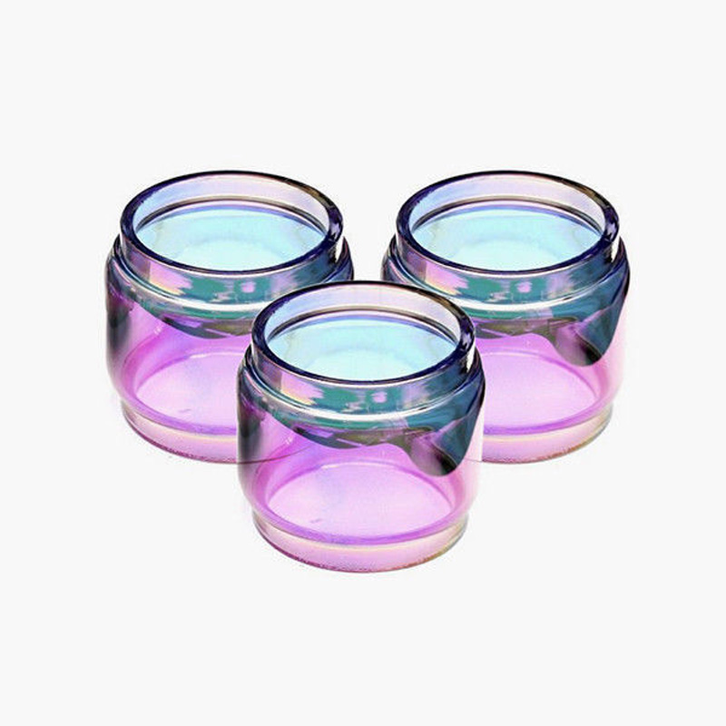 3pcs Bulb Pyrex Glass Tube 8ml For SMOK TFV12 Prince Tank