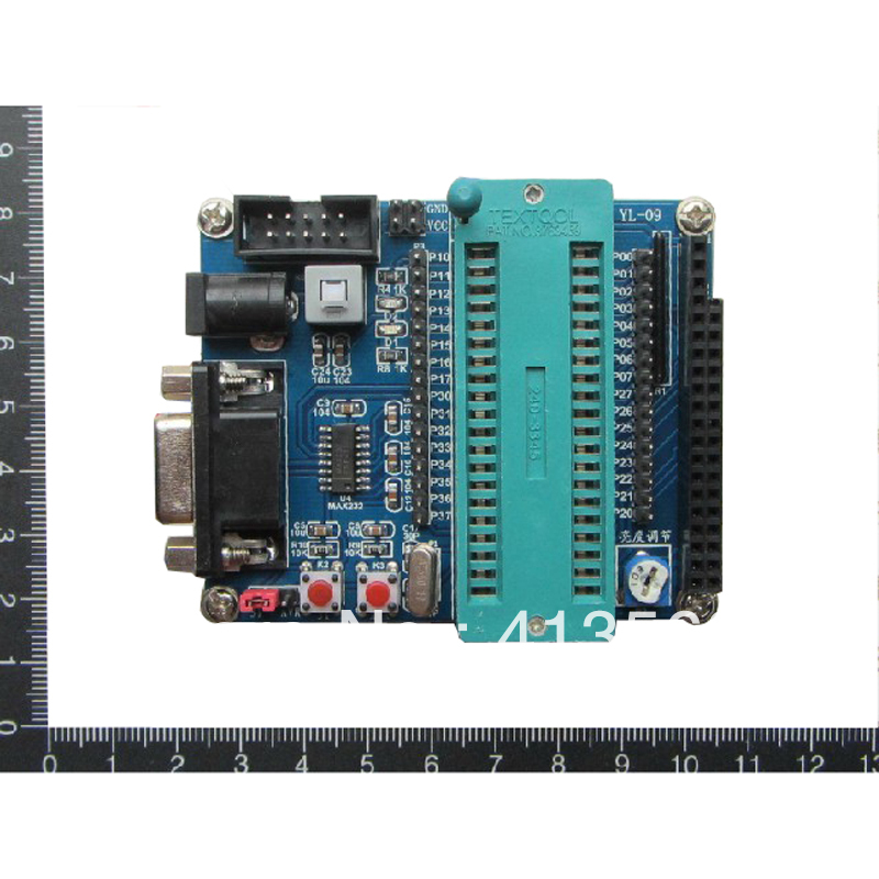 (not including SCM) 51 single chip microcomputer minimum system board/development board/learning plate 0.064 KG #30136