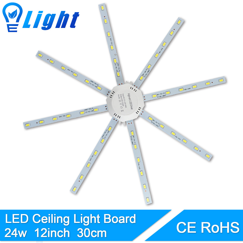 24W Magnetic Accessory Source LED Ceiling Lamp Octopus Modified Light Plate Replace For Round Downlight Kitchen Absorb dome lan mu led ceiling lamp octopus light