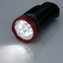 LED Outdoor Camping Hiking Super Bright Charging Portable Light Flashlight Torch Light Nine Lamp Head 1000mAH 2017 Top Sale(China)