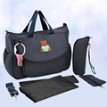 Insular Print Bolso Maternidad Multifunction Cotton Baby Diaper Bag For Mom with Accessories