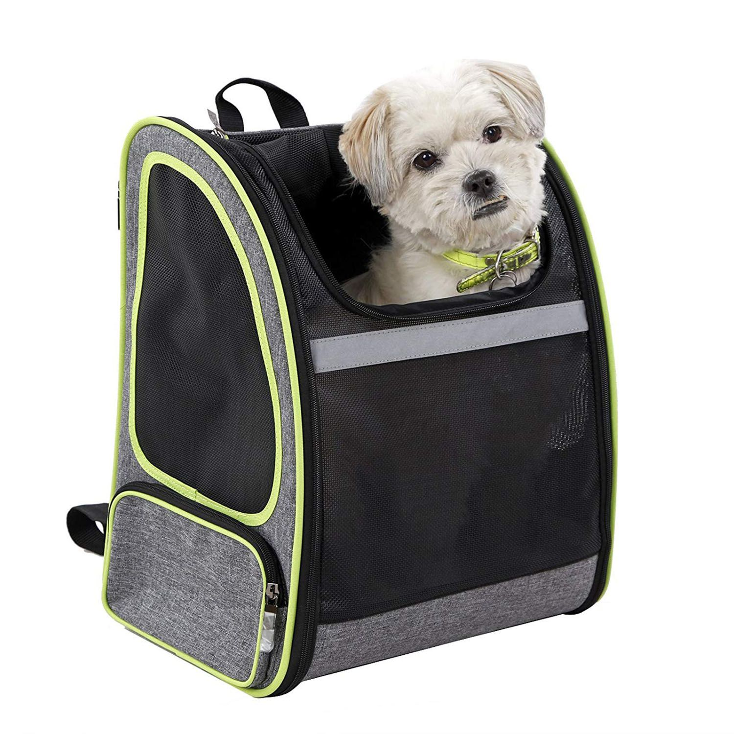 ABFP Premium Pet Carrier Backpack For Small Cats And Dogs Ventilated Design, Strap, Buckle Support Designed For Travel, Hiking