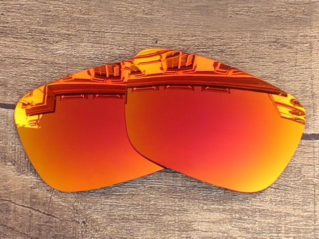 Fire Red Espelho Polarizada óculos de Sol de Lentes de Reposição Para O  Júri Quadro 100 4aec2d9130