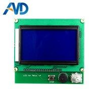 ملحقات طابعة ثلاثية الأبعاد شاشة LCD 12864 للوحة Wanhao I3 V1.1 Melzi