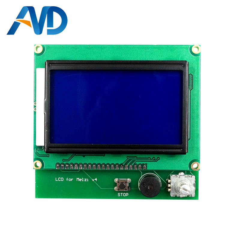 3D Printer Accessories 12864 LCD For Wanhao I3 V1.1 Melzi Board melzi 1284p