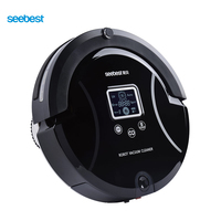 Robotic Vacuum Cleaner With UV Sterilize Air Cleaner For Home Office Vacuum Cleaner With LCD Screen