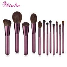 Sinso Professional Kabuki Makeup Brushes Set Powder Foundation Eyeshadow Eyebrow Brush Cosmetic Tool High Quality Make Up Brush