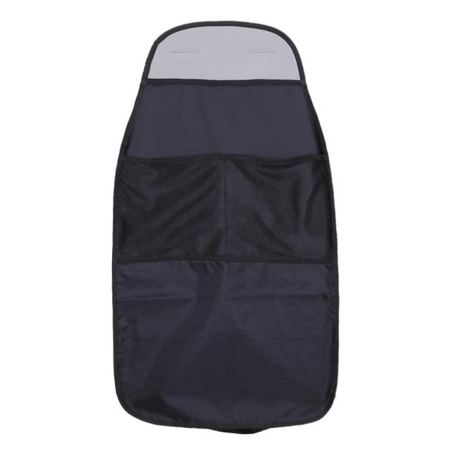 Waterproof Universal Auto Seat Back Organizer Storage Bag Car Seat Back Scuff Dirt Protect Cover For Child Baby Kid kick Mat Pad
