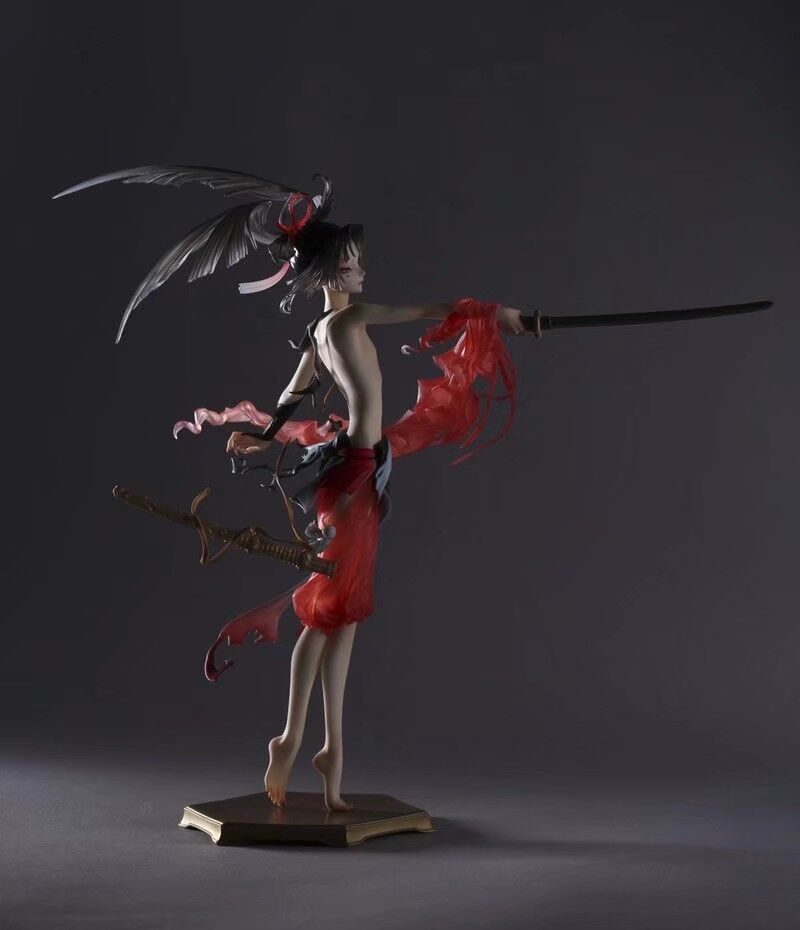 Figura in resina Kit Touken Ranbu On Line Kogarasu Maru Non Verniciata Garage Kit Resina-in Action figure e personaggi giocattolo da Giocattoli e hobby su  Gruppo 1