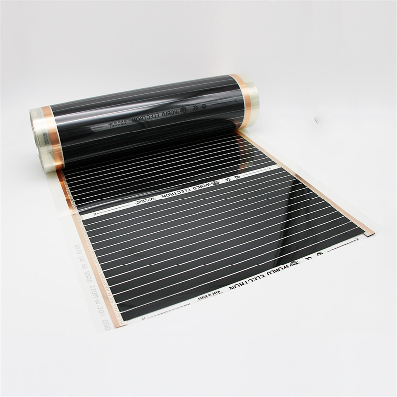 Image 5 - 22m2 Infrared Surface Heating Foil ELECTRIC UNDERFLOOR HEATING FILM, INFRARED 220W/m FILM With AccessoriesFloor Heating Systems & Parts   -